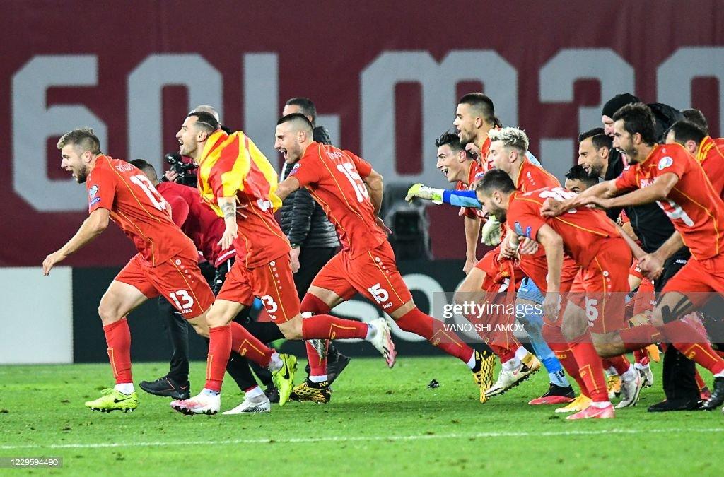 FBL-EURO-2020-2021-GEO-MKD : News Photo