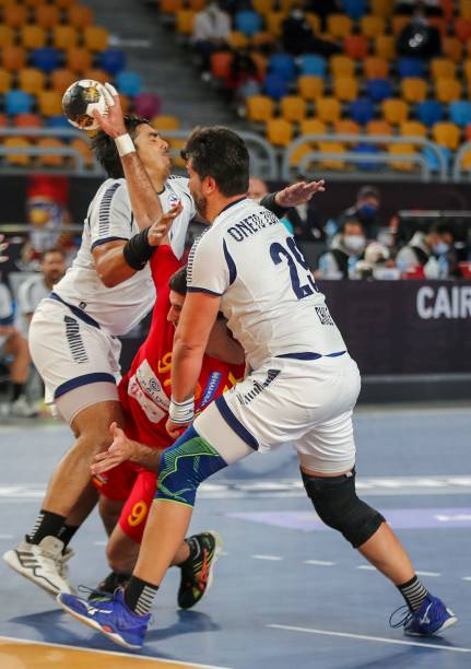 UNS: Czech Republic  v Chile - IHF Men's World Championships Handball 2021