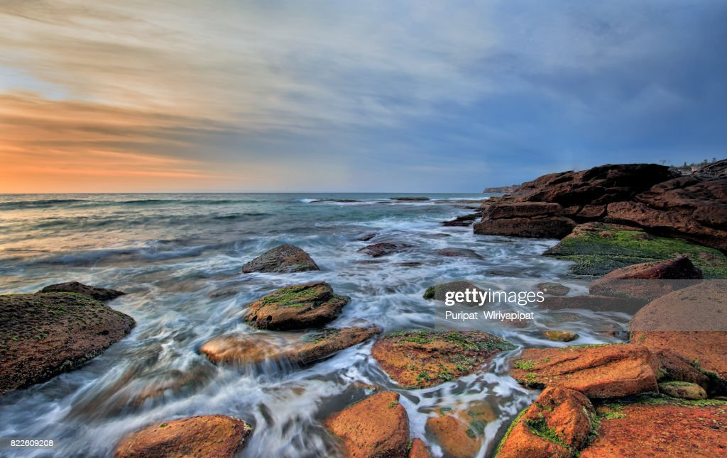 North Narrabeen Beach, New South Wales, Australia : Stock Photo