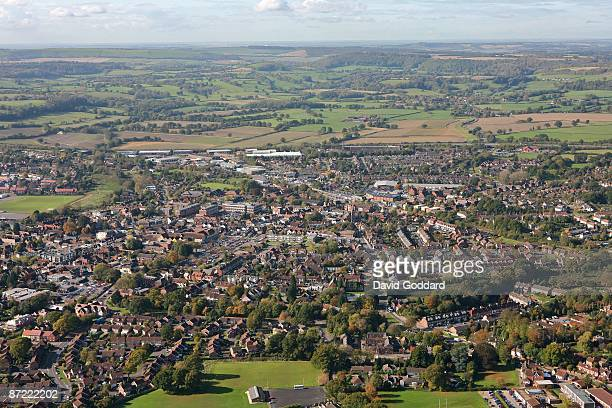 North of the South Downs in the valley of the Western Rother is the Hampshire town of Petersfield on 22nd October 2008.