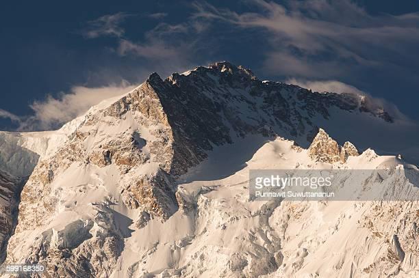 North peak of Nanga Parbat mountain