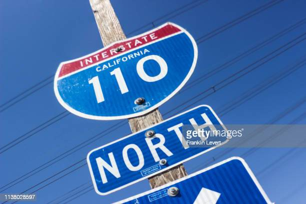 110 north - compton california stock pictures, royalty-free photos & images