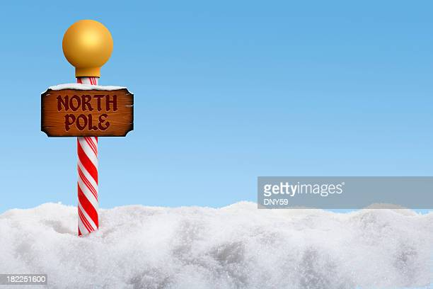 north pole - pole stock pictures, royalty-free photos & images