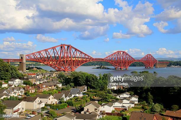 north queensferry, the forth railway bridge - frans sellies stockfoto's en -beelden
