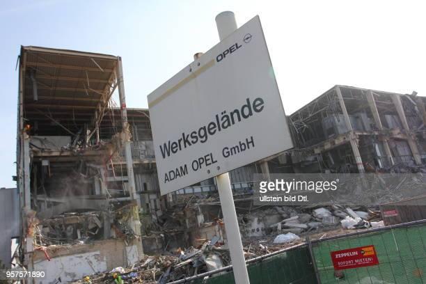 EU DEU North Rine Westfalia Bochum the former opel factory Bochum