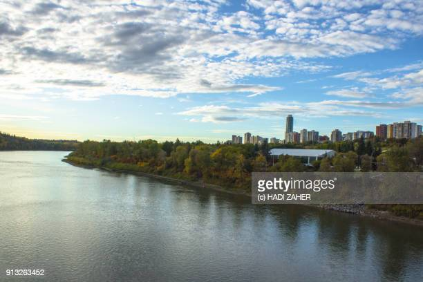 North Saskatchewan River and the City of Edmonton