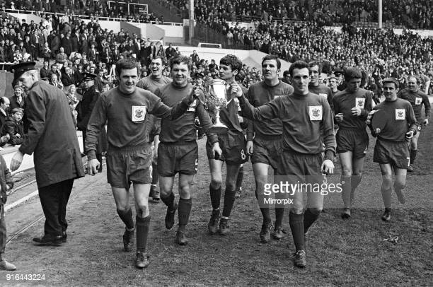 North Shields v Sutton FA Amateur Cup match held at Wembley, 12th April 1969.