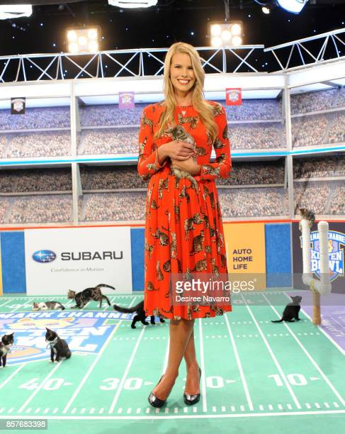 North Shore Animal League Americas Volunteer and National Spokesperson Beth Stern attends Kitten Bowl V on October 4 2017 in New York City