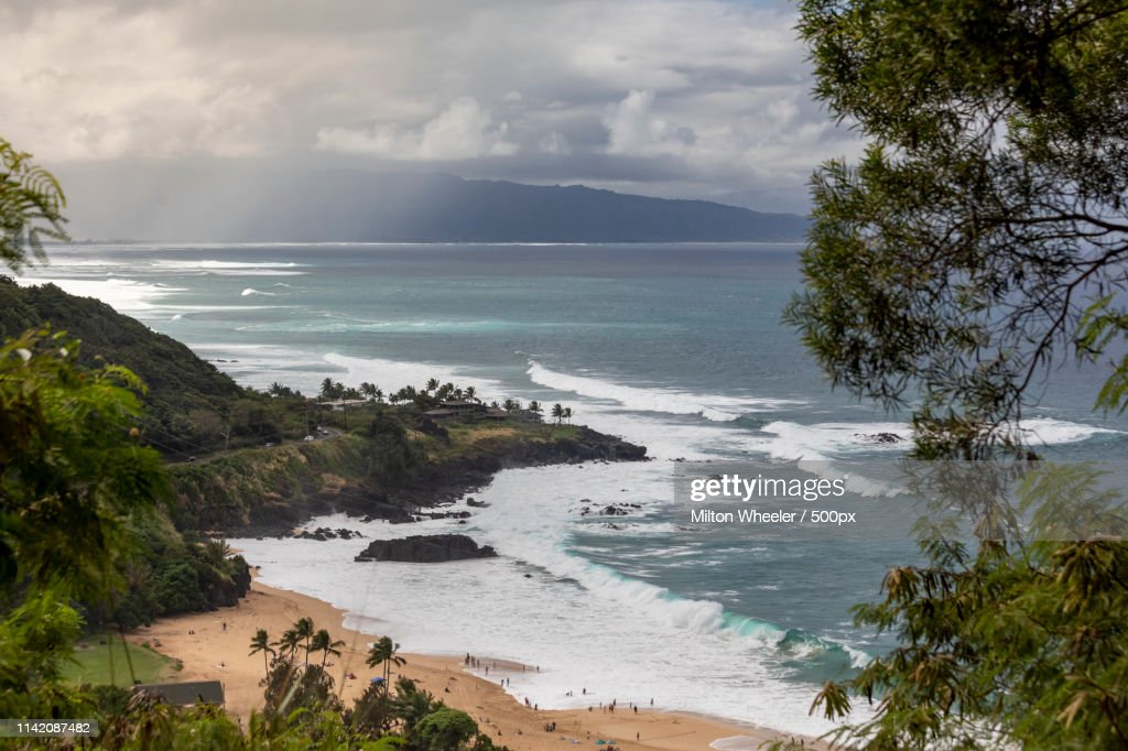 North Shore Day : Stock Photo