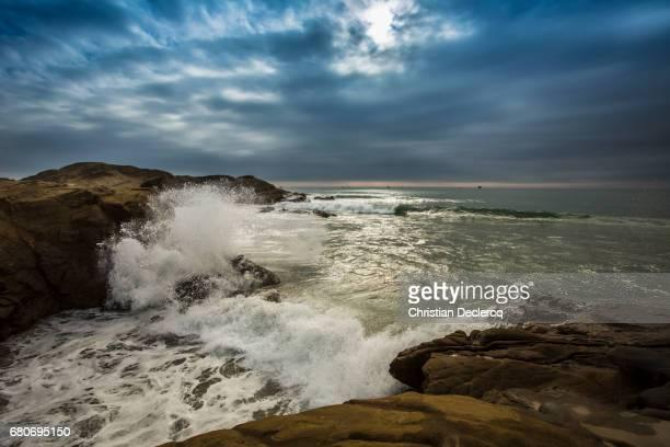 north shore peru - mancora fotografías e imágenes de stock