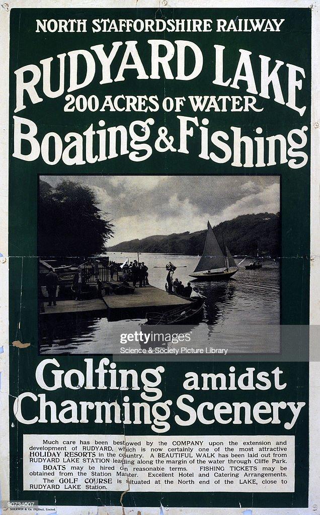 �Rudyard Lake�, NSR poster, 1900-1922. : News Photo