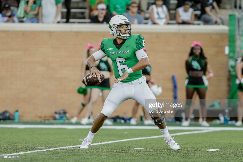 COLLEGE FOOTBALL: OCT 27 Rice at North Texas : News Photo