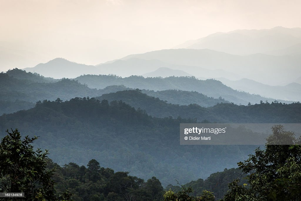 North thailand landscape : Stock Photo
