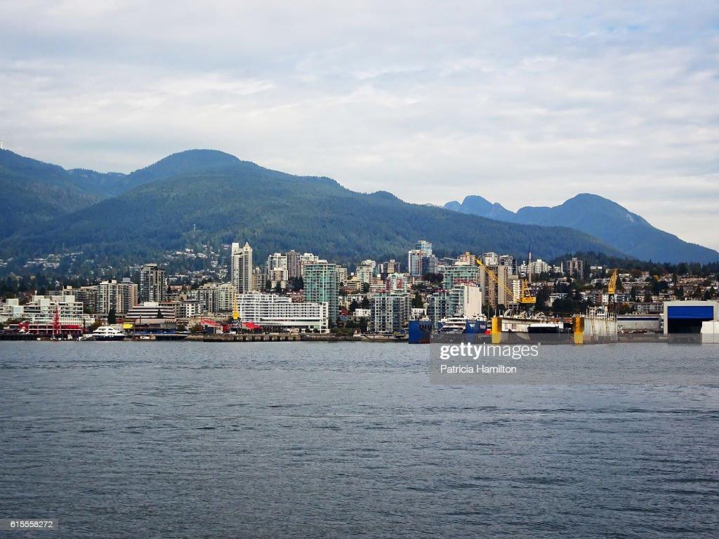 North Vancouver cityscape : Stock Photo