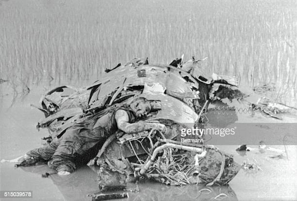 Dead American Pilot On Wreckage 1967 | Location Somewhere in North Vietnam