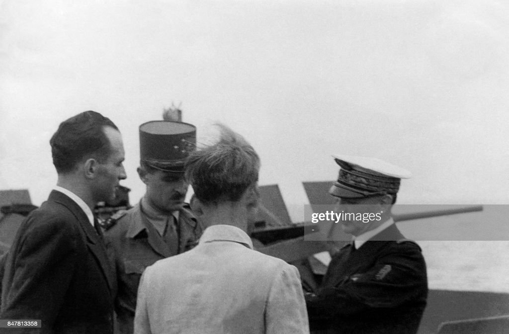 North Vietnamese President Ho Chi Minh Meets General Leclerc And