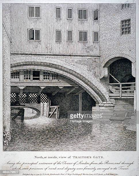 North view of Traitor's Gate Tower of London 1798 On its completion in 1097 the Tower provided accommodation for the king but in later centuries was...