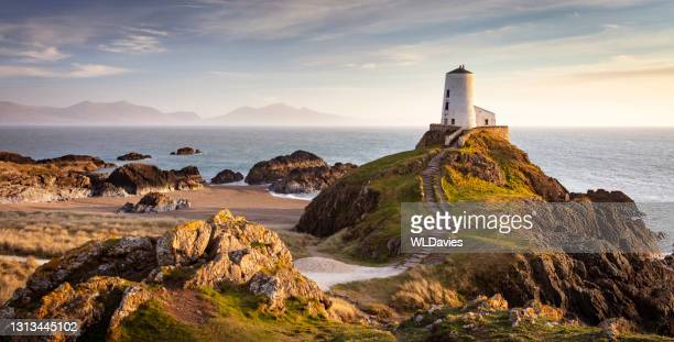 north wales coastline - seascape stock pictures, royalty-free photos & images