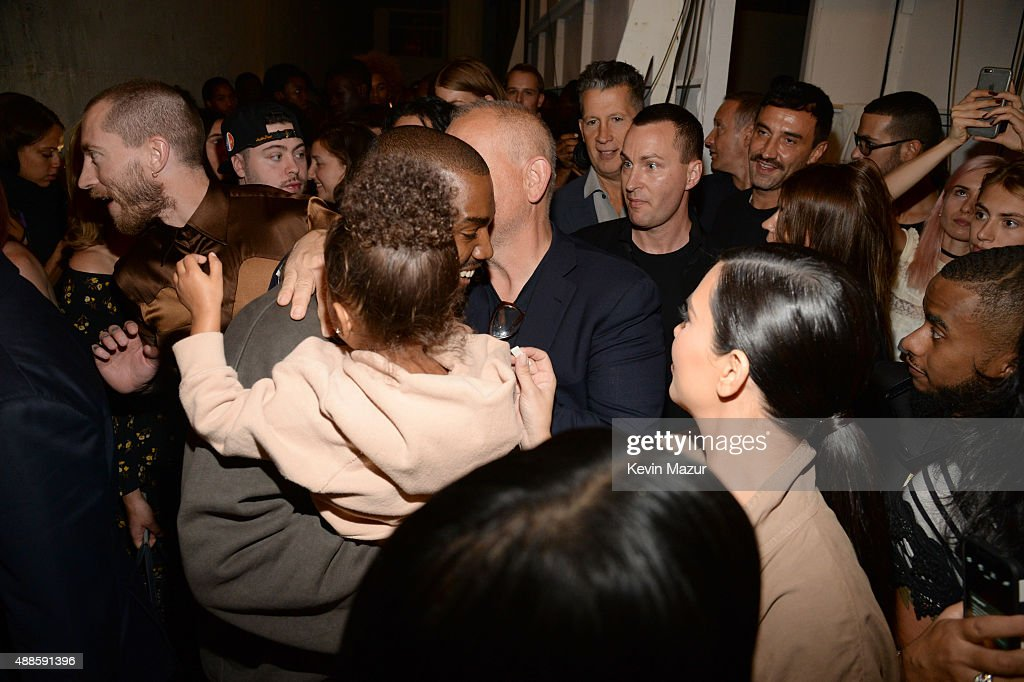 Kanye West Yeezy Season 2 - Backstage : News Photo