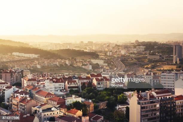 North West Lisbon With Aguas Livres Aqueduct