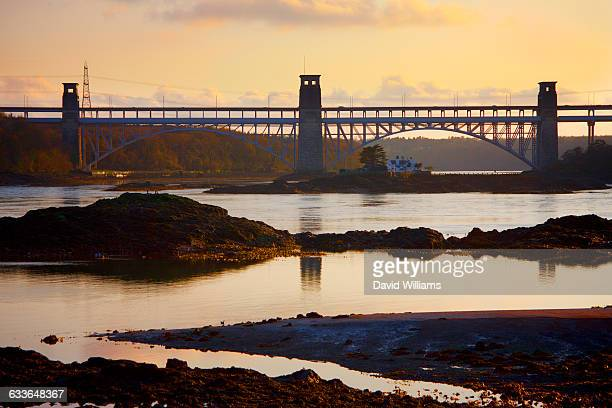 north west wales - menai straits stock pictures, royalty-free photos & images