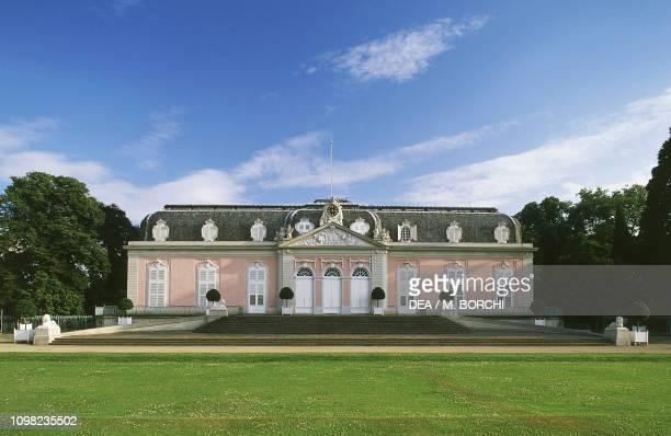 North wing of Benrath Palace Dusseldorf North RhineWestphalia Germany 18th century
