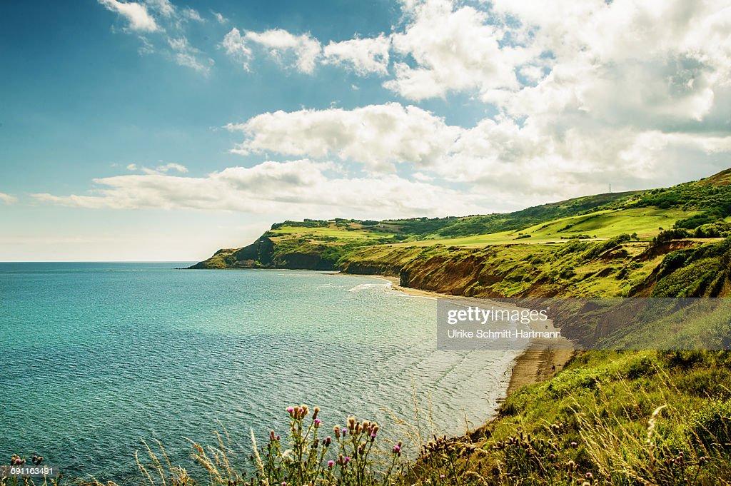 North Yorhsire National Parc, coastal scenery : Stock Photo