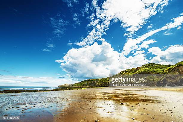 north yorkshire coast - coastline stock photos and pictures