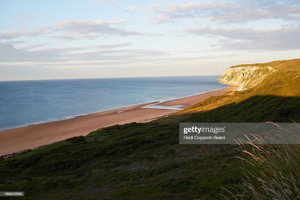 North Yorkshire Coastline : Stock Photo