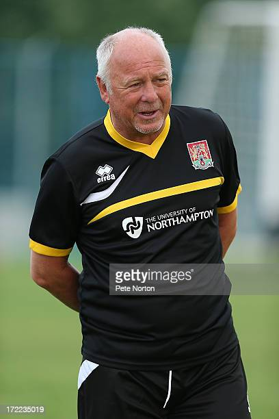 Northampton Town assistant manager Andy King looks on during a preseason training session on July 1 2013 in Novigrad Croatia