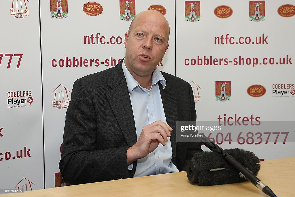 Northampton Town FC Press Announcement - Managerial Vacancy : News Photo