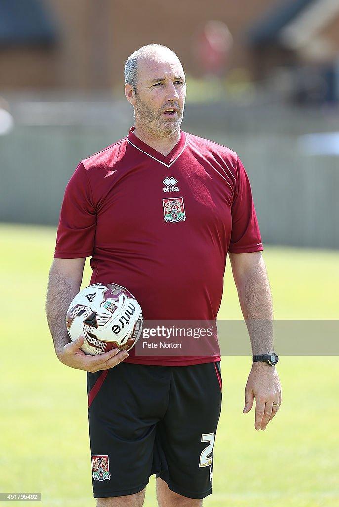 Northampton Town FC Pre-Season Training : News Photo