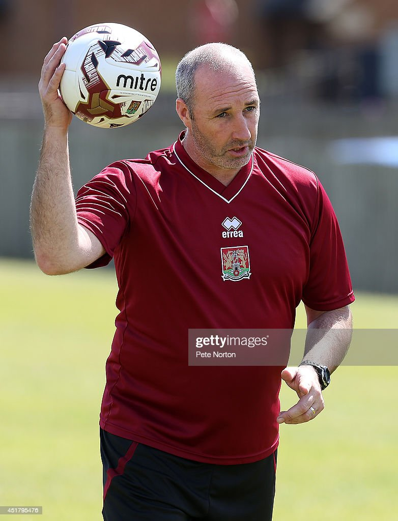 Northampton Town FC Pre-Season Training : News Photo