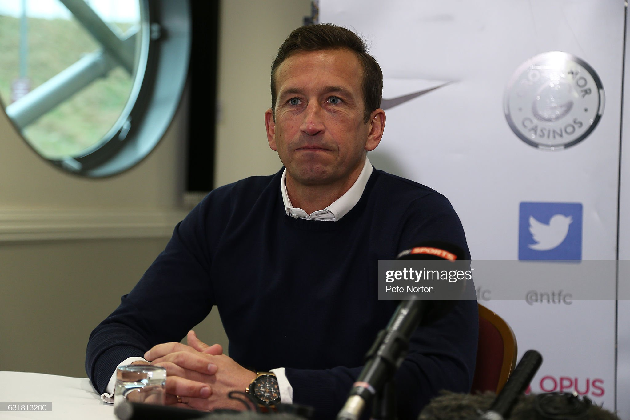 Northampton Town Unveil New Manager Justin Edinburgh : News Photo