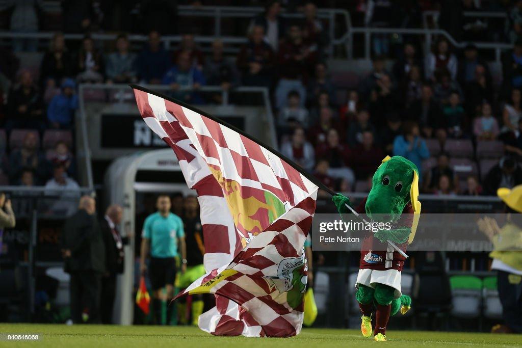 Northampton Town v Cambridge United - Checkatrade Trophy : News Photo
