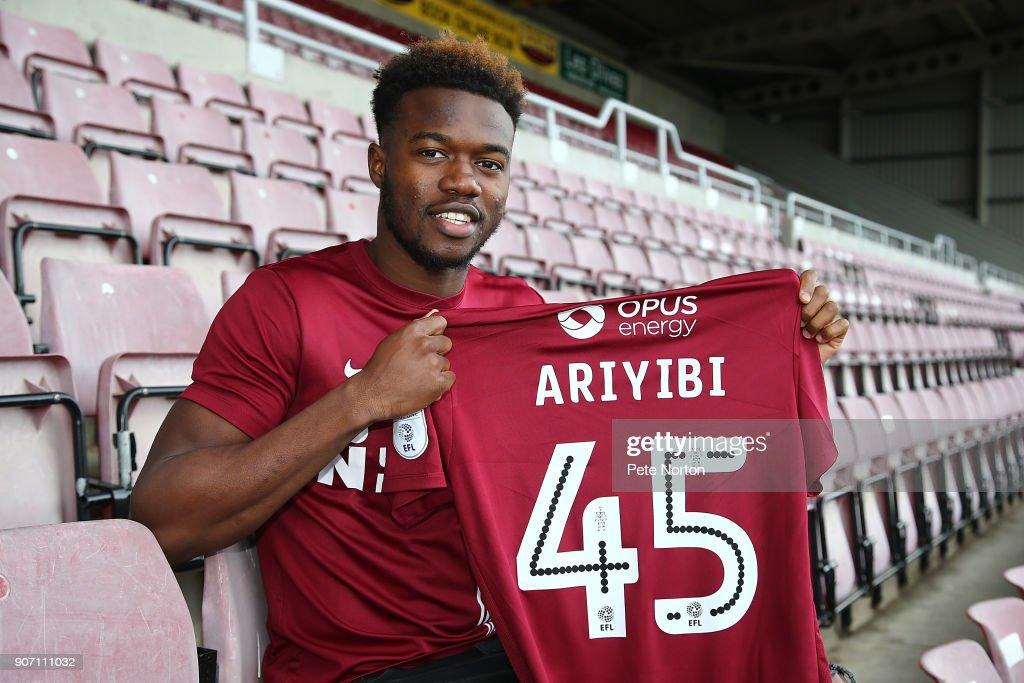 Northampton Town Unveil New Signing Gboly Aribiyi