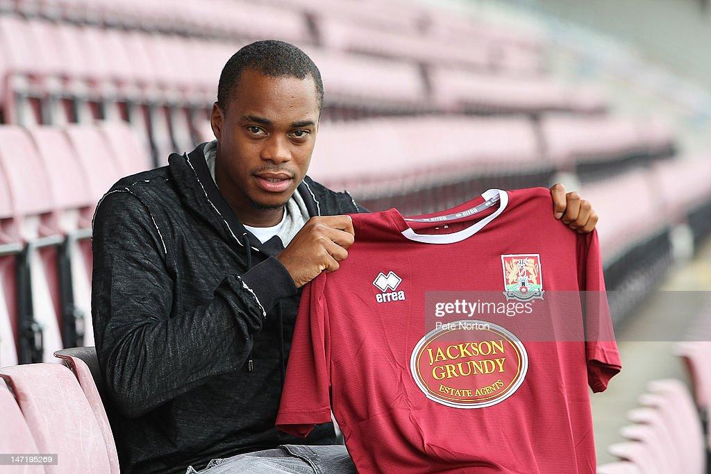 Northampton Town FC 2012/13 Signings : News Photo