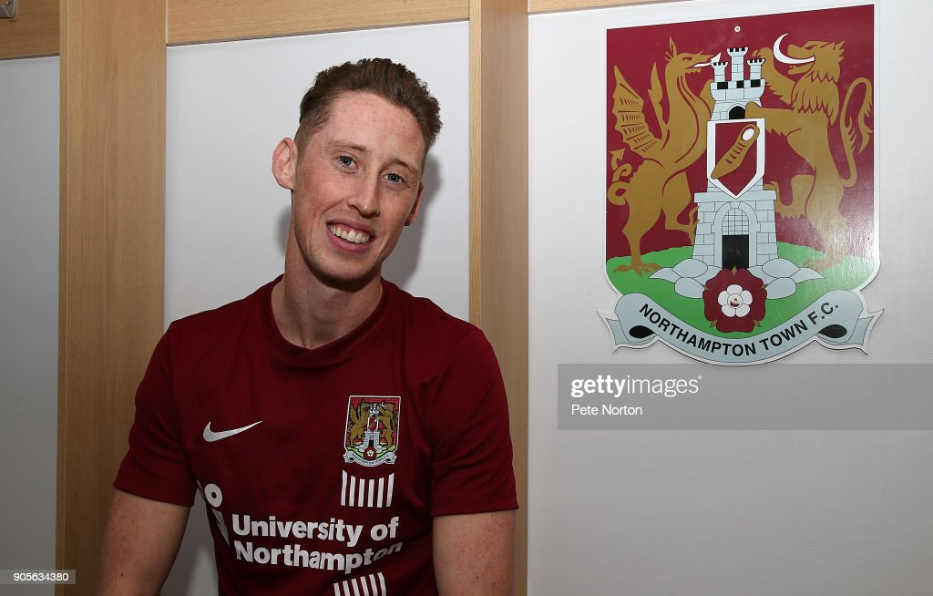 Northampton Town Unveil New Signing Joe Bunney