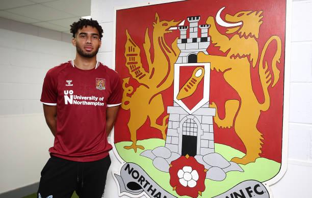 GBR: Northampton Town unveil new signing Kion Etete