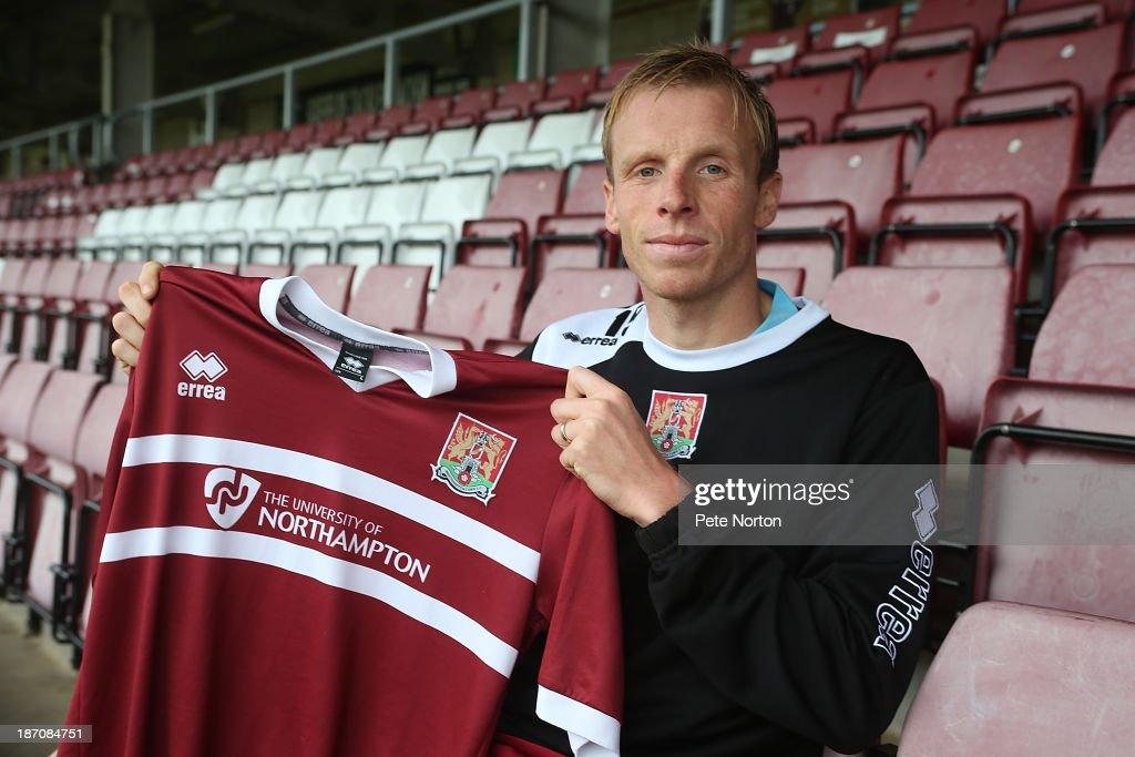 Ricky Ravenhill - Northampton Town FC New Signing : News Photo