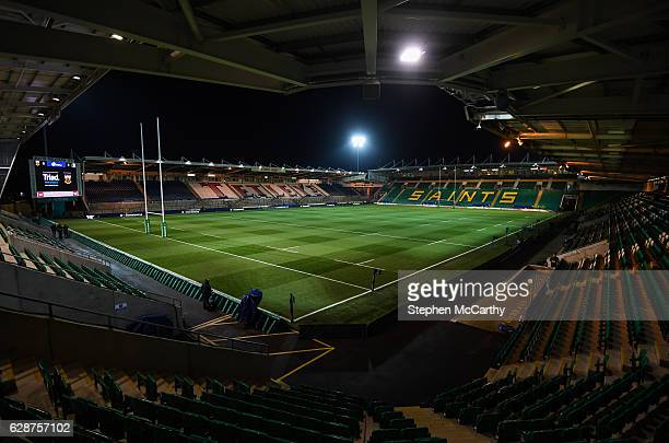 Northampton United Kingdom 9 December 2016 A general view of Franklin's Gardens prior to the European Rugby Champions Cup Pool 4 Round 3 match...