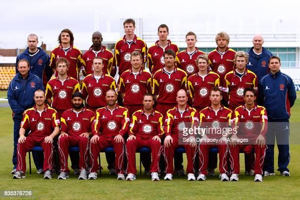 Northamptonshire team group in one day and Twenty20 klit Ross Dewar Jack Brooks Mark Nelson Bud Bailey Ryan Cummins Graeme White Ben Howgego and...