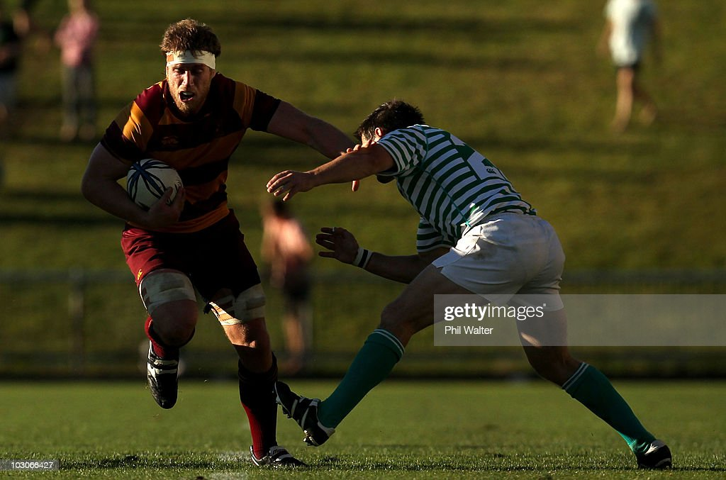 North Harbour Club Rugby Final - Northcote v North Shore : News Photo