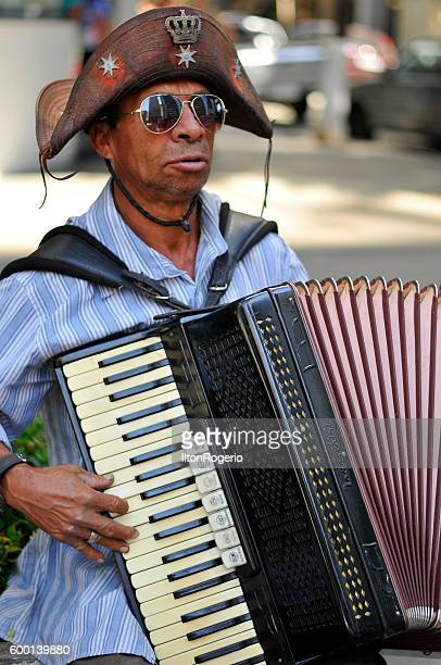 Northeastern accordionist