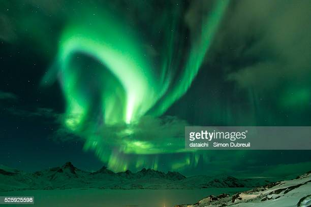 Northen Lights in Tasiilaq