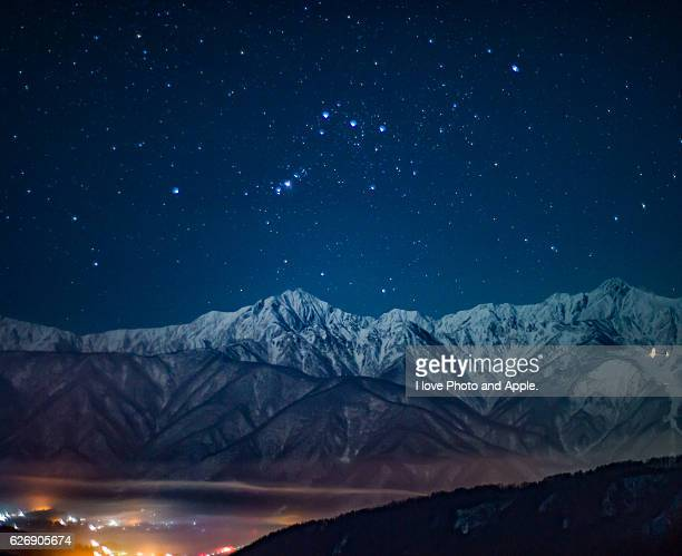 Northern Alps and Orion