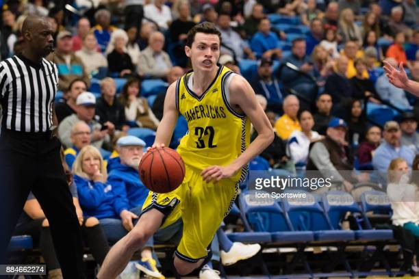 Northern Arizona Lumberjacks guard Chris Bowling drives the ball into the basket from the outside during the game between the Cal State Bakersfield...