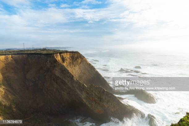 Northern California Pacific Coast Seaside Cliff