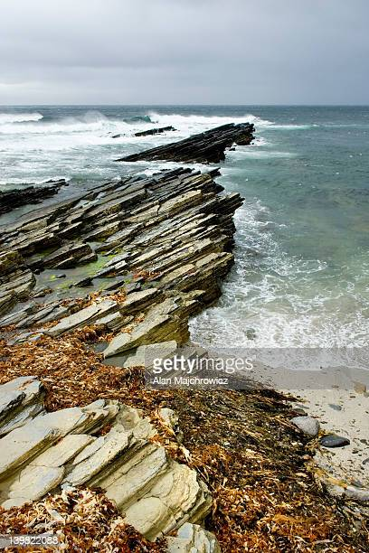 Northern coast of Orkney Mainland, Orkney Islands, Scotland, UK