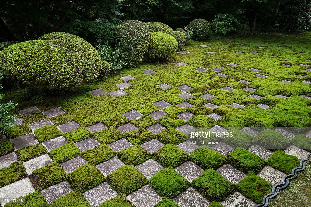 Northern Garden, Tofukuji Hojo Temple. Square cut stones... Pictures ...